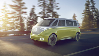 volkswagen, concept car, buzz, концепт кары, фольксваген