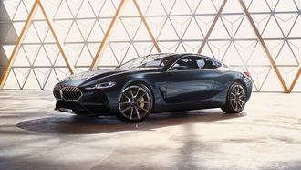 concept, bmw, concept car, 8 Series, концепт кар бмв, бмв 8 серия, концепт кар, вид сбоку