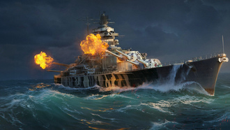 world of warships, бой, крейсер