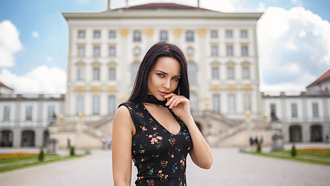 Angelina Petrova, women, model, Denis Petrov, women outdoors