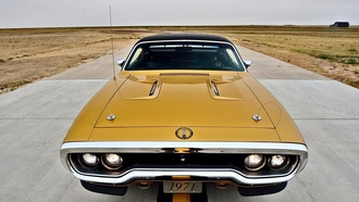 1971, 440 hemi, muscle old, Plymouth Road Runner