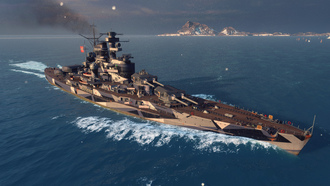 world of warships, эсминец