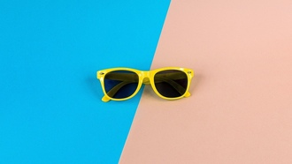 очки, glasses, pink, blue, yellow, iphone, ipad, retina
