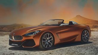 бмв, родстер z4, concept z4, bmw, z4, car wallpaper, машины 2018