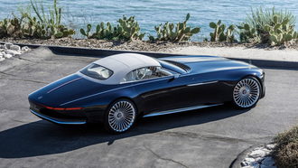 mercedes vision, maybach 6, машины 2018, мерседес, car wallpaper, концепт кар, mercedes, мерседес концепт кар