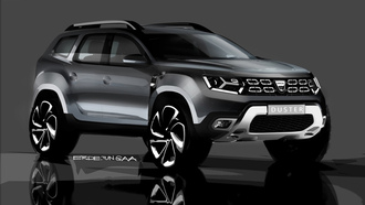 dacia, рено, renault, duster, рено дастер, car wallpaper, концепт кар