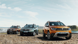 dacia, рено, renault, duster, рено дастер, car wallpaper