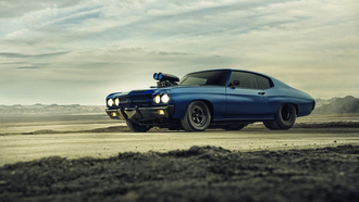 muscle, chevelle, upercharger, ront, chevrolet, ragster