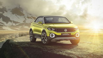 volkswagen, breeze, tcross, concept car, crossover, фольксваген, концепт кар, кроссовер, машины 2016