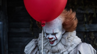 клоун, фильм оно, оно, клоун с шариокм, пеннивайз, balloon, лучшие фильмы, it, pennywise, best movies