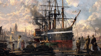 anno 1800, artwork, wallpapers