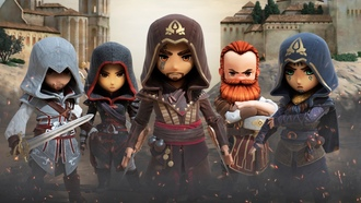assassins creed, rebellion, ios android