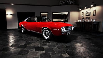 muscle car, 1967, pontiac