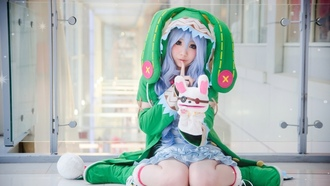 sugoi, beautiful, japanese, cosplay, moe, kawaii, bishojo, cute, subarashii, deredere, pretty face, pretty, asian, ate ive, oriental, girl, anime, game