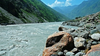 оры, water, river, mountains, rocks