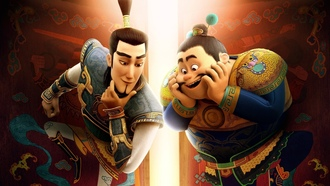 chinese, an ogler, asian, god, asiatic, brothers, oriental, armor, dward orton, he uardian rothers, iao men shen, animated movie animated film, guardian, u ei, hen u