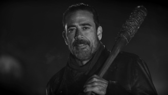 the waking dead, negan, zombie