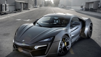 суперкар, wmotors, hypersport, lykan