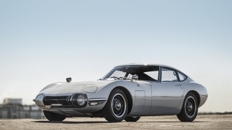 toyota, 2000gt, silver, classic