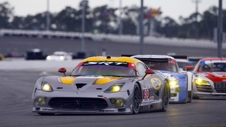 dodge, гонка, 24 часа дейтоны, daytona international speedway, srt, gtsr, viper