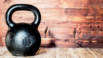 gym, metal, wall, kettlebell, crossfit