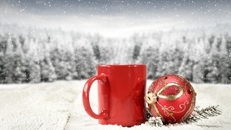 winter, новогодний шар, decoration, hristmas, ball, ождество, holiday celebration, erry hristmas, зима, mug, снег, snow, кружка, овый од, mas