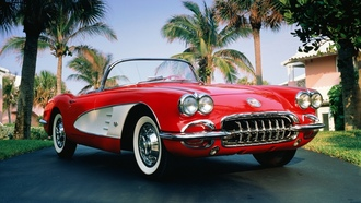 classic, sports, cars, 1960, chevrolet, corvette