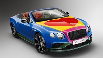 pop art, bentley, eter lake
