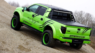 тюнинг, geigercars, the beast, svt, ford, f150, raptor, пикап, tuning
