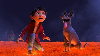 oco, dog, animated film, boy, dreamer, animated movie, exico