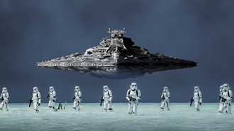 spaceship, imperial troops, stellar ship, helmet, storm troopers, blaster, destroyer, cinema, film, armor, spinoff, gun, weapon, tar ars, imperial army, ogue ne tar ars tory, movie, ship