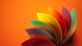 background, colored, wavy, колор, abstract, абстракция, фон, радуга, ainbow