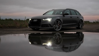 audi, black, light, ауди, фары