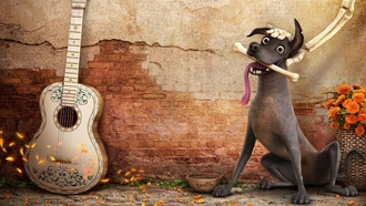 oco, animated film, dog, happy, animated movie, exico, bones