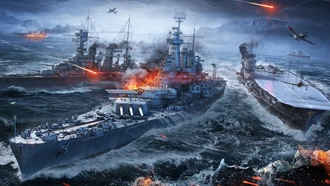 world of warships, wargaming net, корабли, море