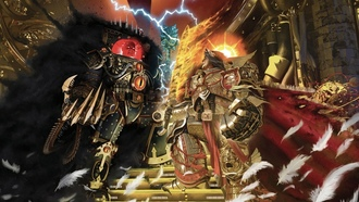 mperor of ankind, traitor, orus eresy, artbook, arhammer 40 000, primarch, orus, battle