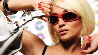 sunglasses, girl, style, beutiful, blonde, glamourous, glamour, гламур