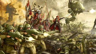 soldier war, weapons, arhammer 40 000, mperial uard, stra ilitarum