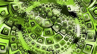 abstractretro, greenform, fractal