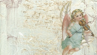angel, greeting, card, cards