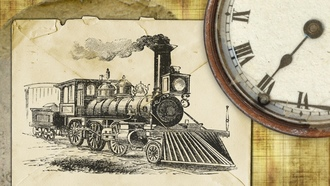 oldvintage, retro, locomotivetrain