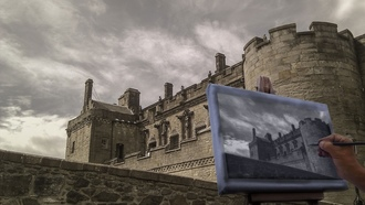 sterlingcastle, skyclouds