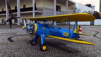 blue, yellowaircraft