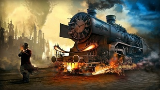 steampunk, wallpaper