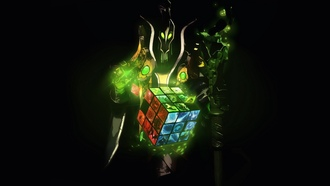 dota 2, rubick the grand magus, rubiks cube