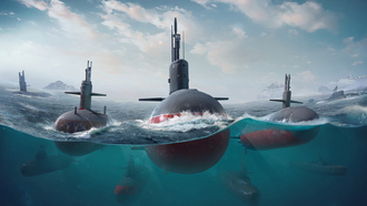 гра, одводная лодка, убмарина, nvironments, ransport ehicles m by onstantin ankratov, world of submarines