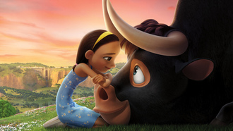 girl bull friends, animated film erdinand, animated movie