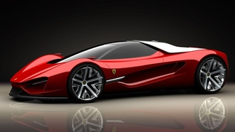 errari, beautyfull, red