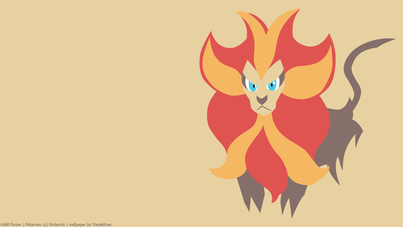 pyroar, pokemon