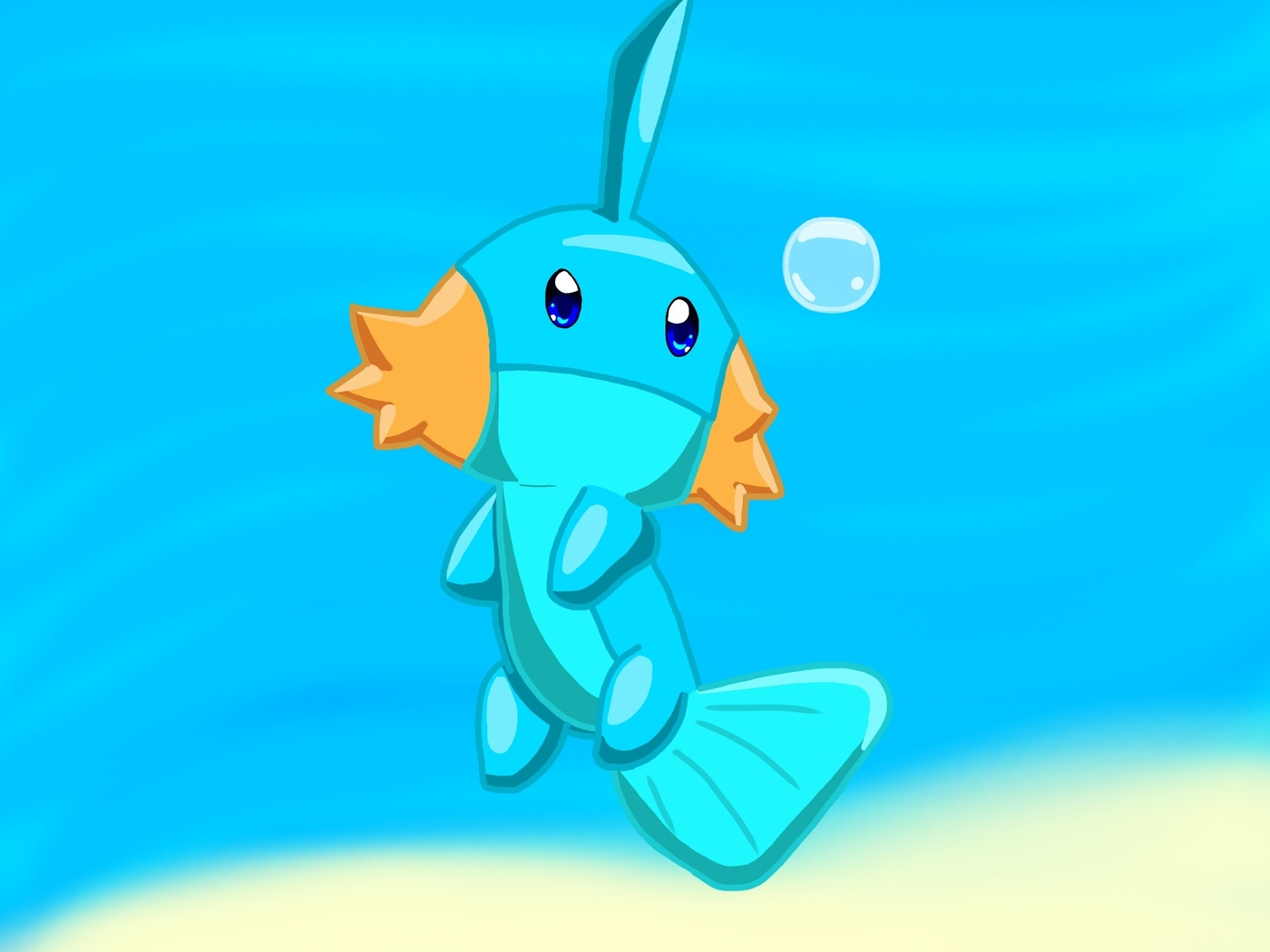 pokemon, mudkip